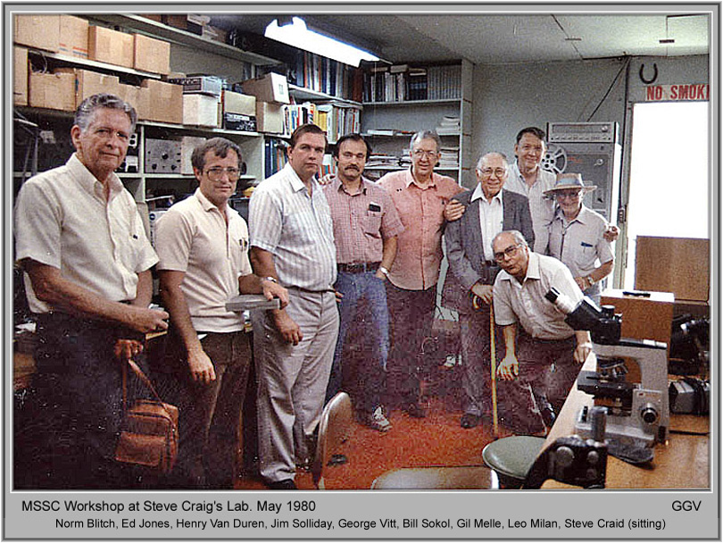 MSSC workshop 1980